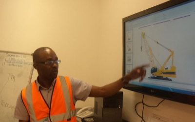 Mobile Crane Training for NLNG @ Bonny Island , River State