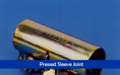 Pressed Sleeve Joint