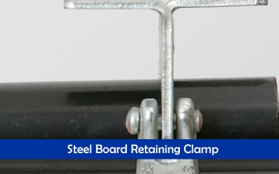 Steel Board Retaining Clamp